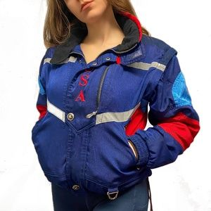 Spyder 1998 USA Ski Team Vintage Jacket